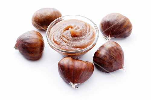 Chestnut cream and chestnuts