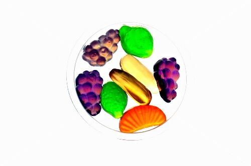 Assorted fruit sweets
