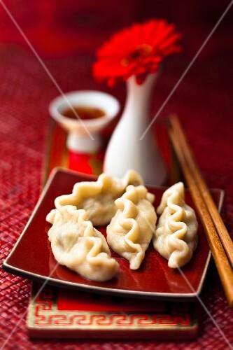 Jiaozi (pork dumplings, China)