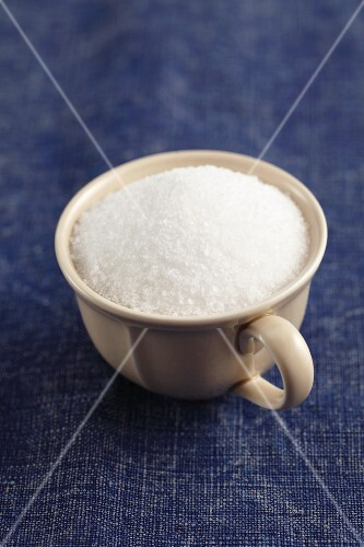 Sea salt in a cup