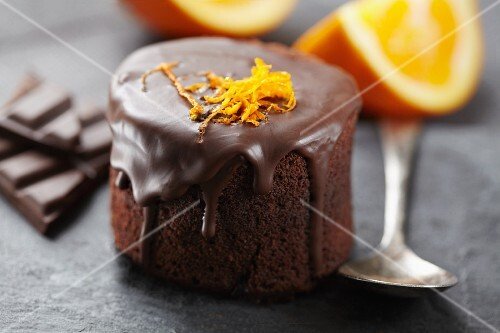 Chocolate-orange mini-cake