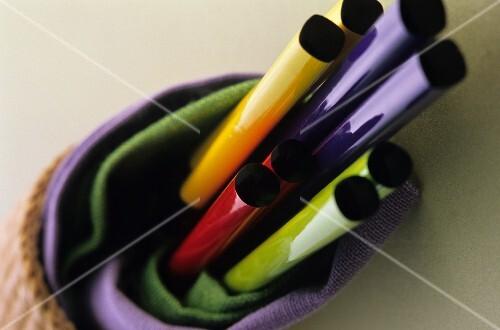 Colourful chopsticks