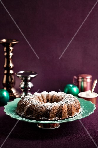 Apple cake with cider