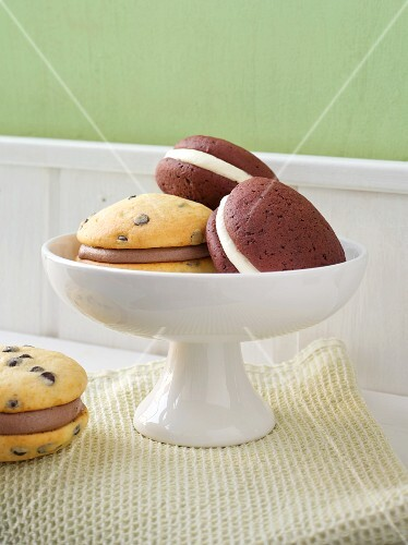 Whoopie pies in a bowl