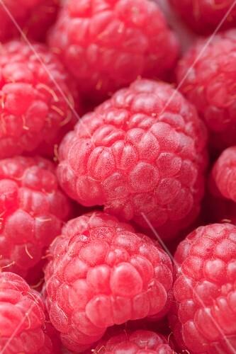 Raspberries, close-up