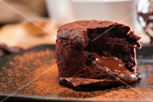 Chocolate melting middle pudding