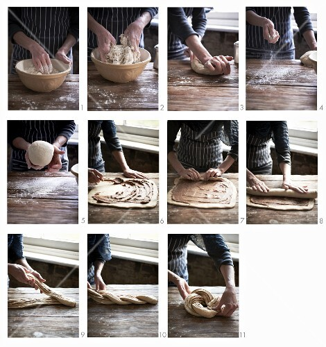 Steps to Making Cinnamon Swirl Bread