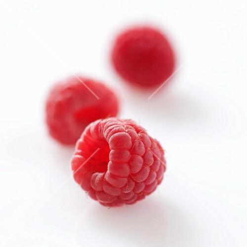 Raspberries (no background)