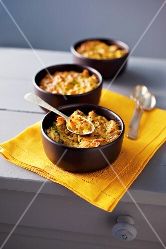 Crab and chicken bake
