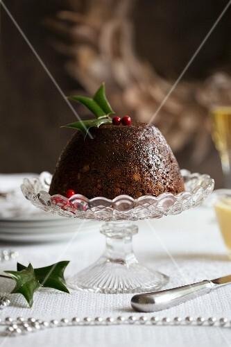 A plum pudding for Christmas