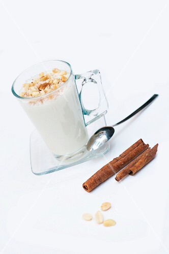 Sahlab (a hot milk drink for winter, North Africa)