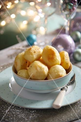 Roast potatoes for Christmas
