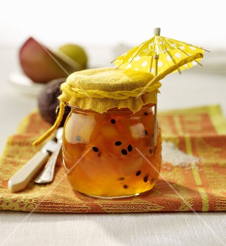 'Sunshine jam' made from exotic fruits