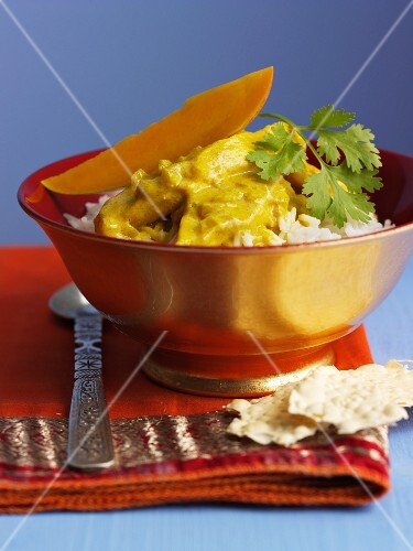 Mango curry with fish (India)