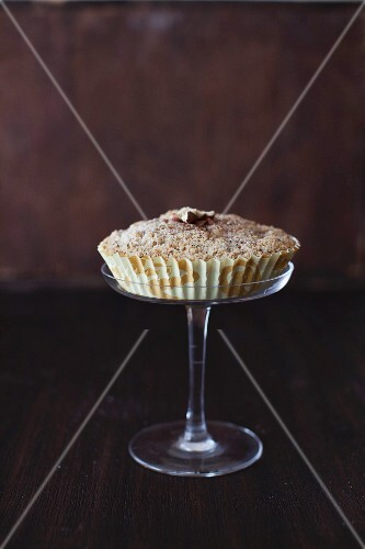Coffee Cake with Hazelnut Streusel Topping