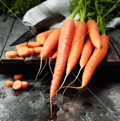 Fresh carrots - Grow your own
