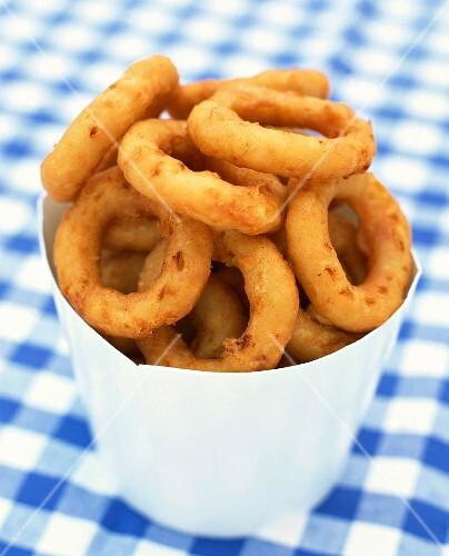 Carton of Onion Rings