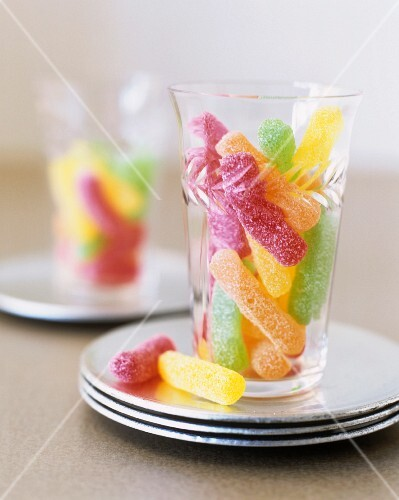 Jelly fruit sweets