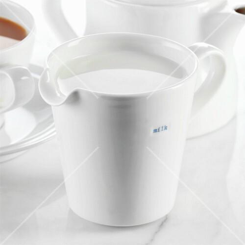 A Jug of Milk with Tea