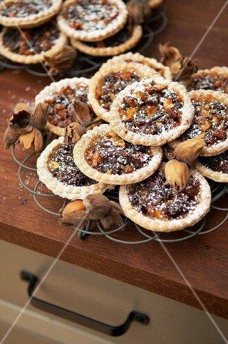 Rustic mince pies