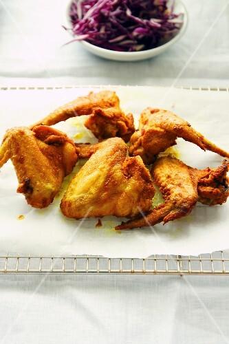 Turmeric chicken wings