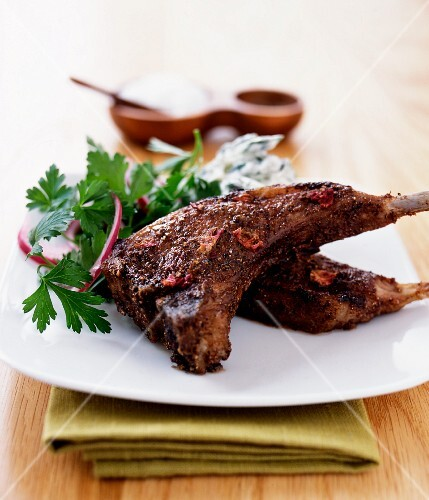 Spicy lamb chops (Morocco)