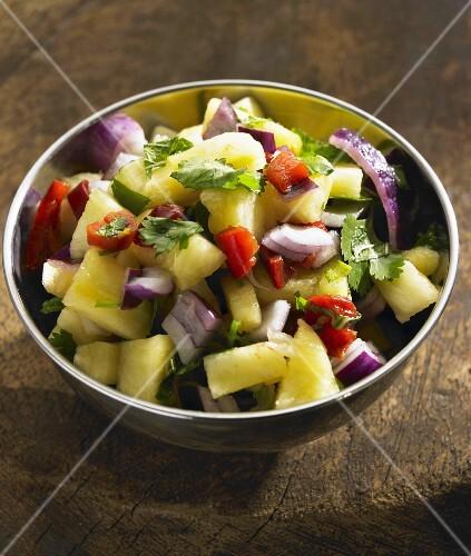 Pineapple and Onion Salad