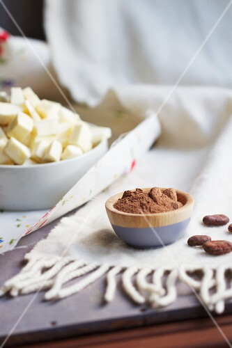Cocoa powder and parsnips