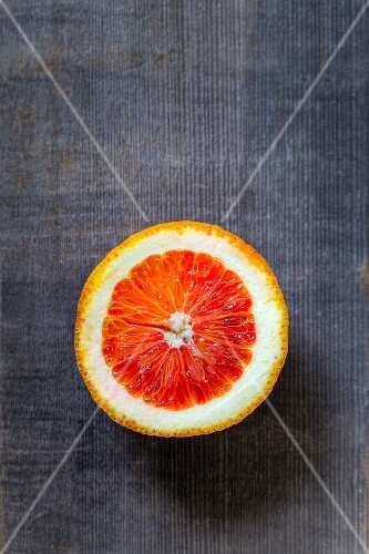 Half a blood orange
