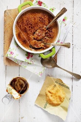 Chestnut creme brulee