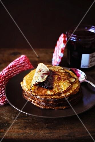 Russian beer pancakes