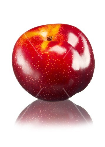 A red plum