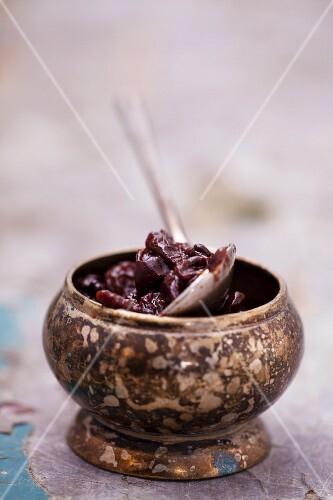 Red grape jam