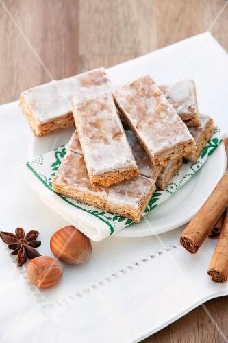 Basler Leckerli (Swiss hard spiced biscuits)