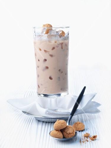 Frappuccino with amarettini