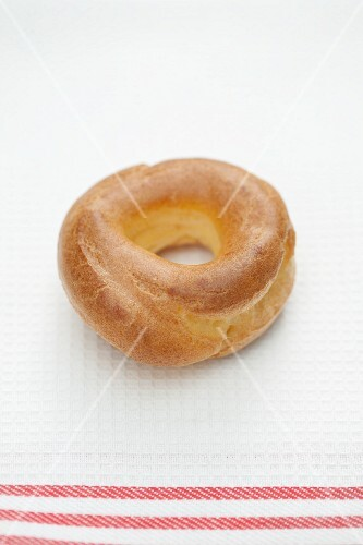 Choux pastry ring