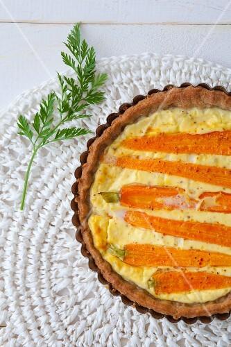 Carrot quiche