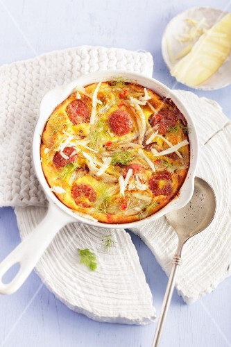 Frittata with fennel
