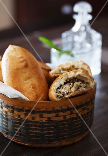 Pirozhki; Russian Baked Stuffed Pies
