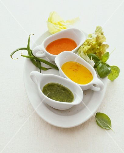 Various salad dressings
