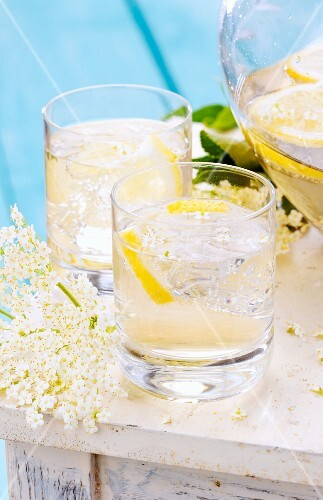 Elderflower punch