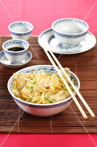 Dim Sum with prawn filling (China)