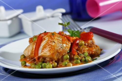 Catalan-style tuna