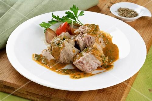 Huelva stew (Andalusia)