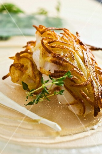 grilled chicken with rosti potatoes