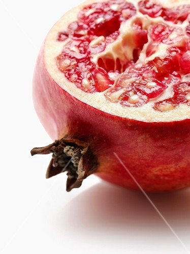 Half a pomegranate (close-up)