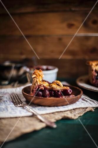 A Piece of Balsamic Cherry Pie