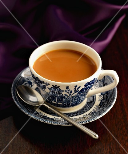 English breakfast tea in a cup
