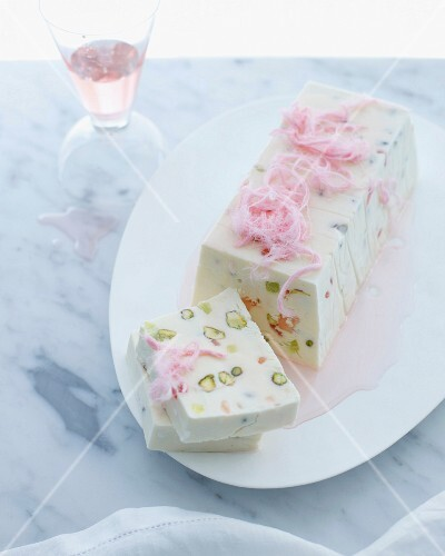Moroccan terrine with pistachio and turkish delight