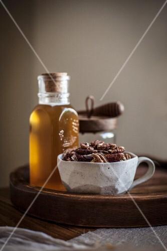 Pecans and Honey